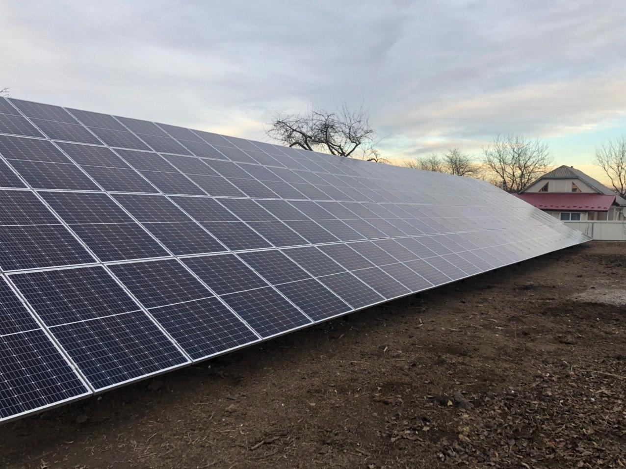 Сонячна електростанція для котеджу потужністю 39,6 кВт у Хмельницькому